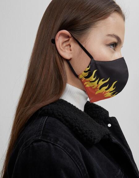 Bershka Cobertor Facial Rebajas 2021 06