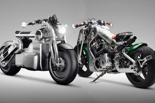 Curtiss Zeus y Warhawk: La primera moto eléctrica y la última de gasolina de la antigua Confederate