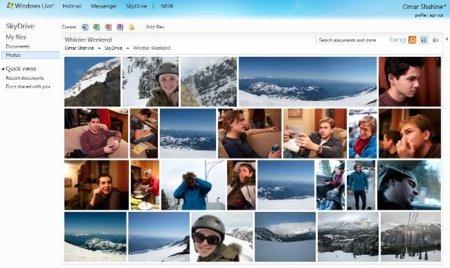 Skydrive ofrecerá alojamiento ilimitado para imágenes y documentos