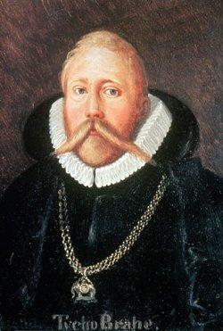 Retrato de Tycho Brahe, pintado por Eduard Ender