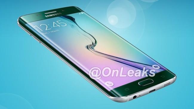Samsung Galaxy S6 Edge Plus Render