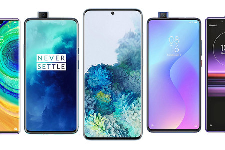 Samsung Galaxy S20, S20+ y S20 Ultra, comparativa: así quedan contra OnePlus 7T Pro, Huawei Mate 30 Pro y resto de gama alta