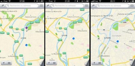 Apple lanza la tercera beta de iOS con una importante mejora en los mapas