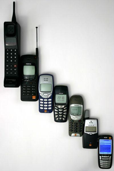 Disfraz casero de teléfono móvil