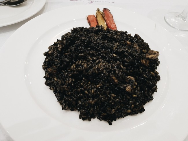 Restaurante St James Rosario Pino Arroz Negro
