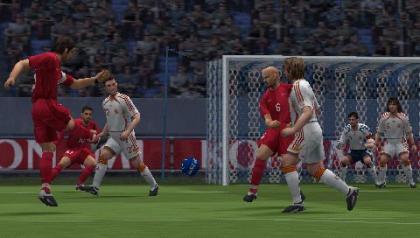 PES 2008 PSP juego 2