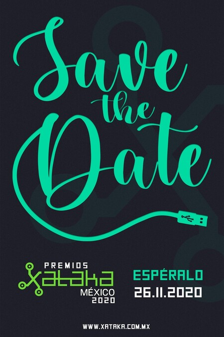 Premios Xataka Mexico 2020 Save The Date