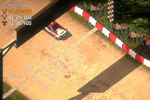 """Super Woden GP es un sueño hecho realidad para los que crecimos con la mítica recreativa World Rally Championship """"de Carlos Sainz"""""""