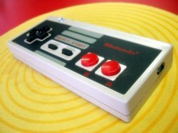 Mando de NES para llamar con el móvil