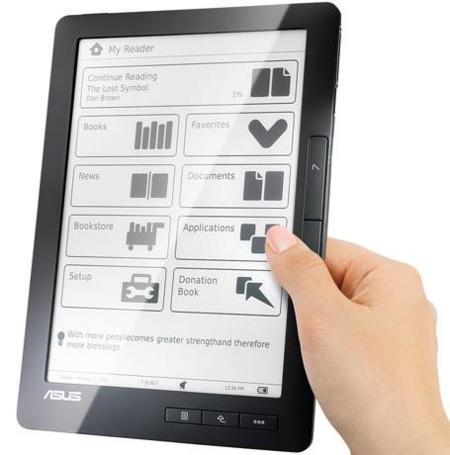 Asus DR-900, lector de libros electrónicos llamado a ser grande