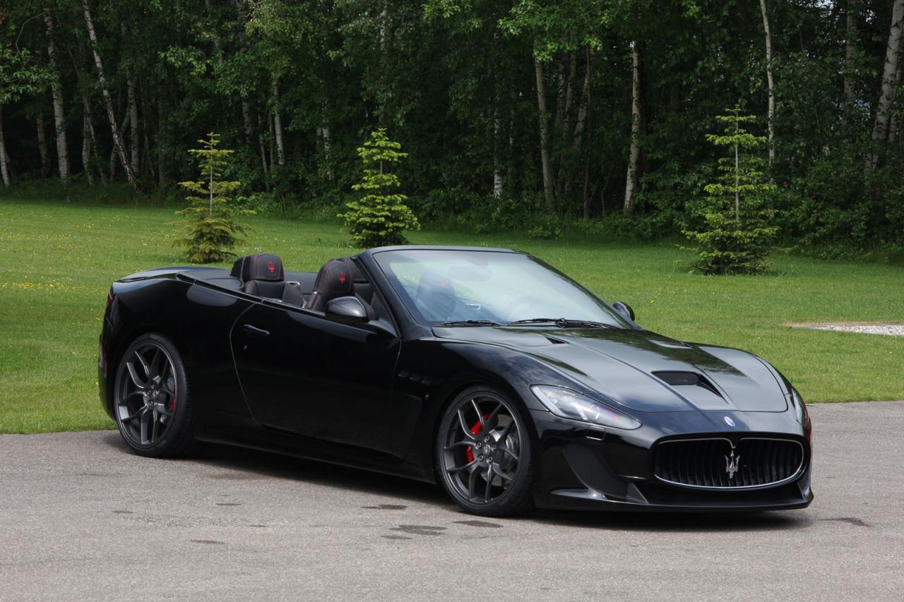 Foto de Novitec Tridente Maserati GranCabrio MC (1/16)