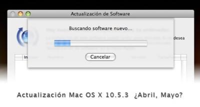 Mac OS X 10.5.3: posible actualización dentro de poco