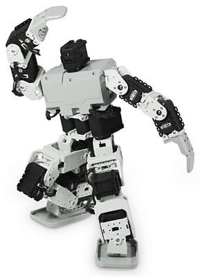 Robot Bioloid, móntalo en tu casa