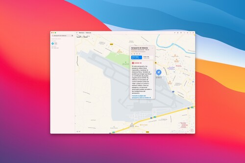 La app de Mapas para iPhone, iPad y Mac ya muestran las medidas COVID de los aeropuertos