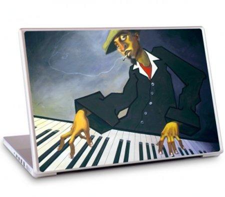 Cinco vinilos de música para tu MacBook. Teclado