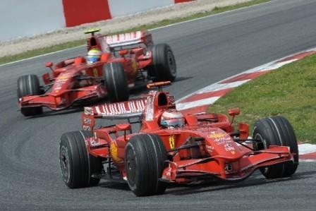 Kimi Raikkonen ayudará a Felipe Massa si es necesario