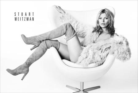 Kate Moss repite para Stuart Weitzman: simplemente ideal