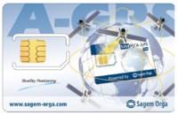 Tarjeta SIM con aGPS de Sagem Orga
