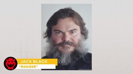 Nueva Pelicula Mario Personajes Voz Jack Black Bowser