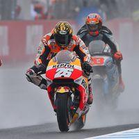 Dani Pedrosa y Álvaro Bautista culpan a Michelin de sus retiradas en el GP de Japón