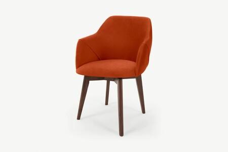 Ec681b6e4362679c0c216bd31389316713710e31 Ochlle004ora Uk Lule Office Chair Flame Orange Velvet Ar3 2 Lb01 Ps