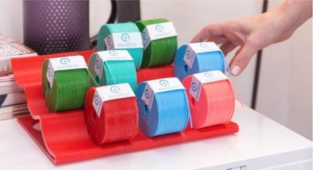 Makness Mk-1 utiliza cápsulas de impresión como las cafeteras monodosis