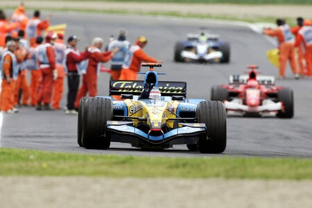 Fernando Alonso se exhibirá en Abu Dabi con el Renault R25, el coche con el que ganó el mundial de Fórmula 1