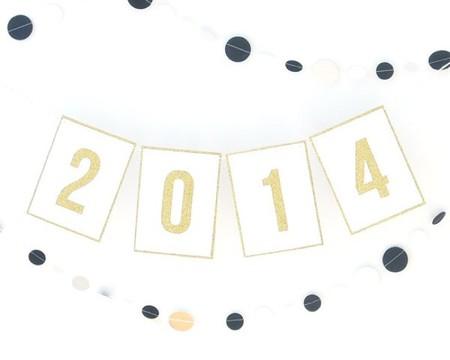 Hazlo tú mismo: una guirnalda para dar la bienvenida a 2014