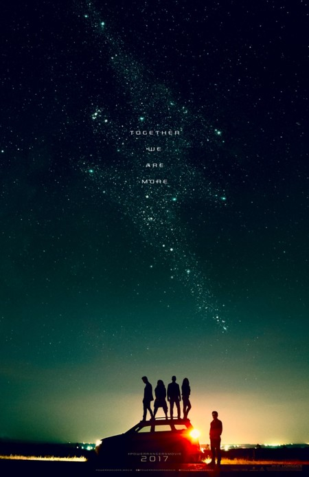 Teaser póster de Power Rangers
