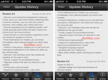 Una actualización importante de Twitter para iPhone se filtra en la App Store, puede llegar pronto [Actualizado: ya disponible]