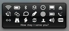 MenuButler: Widget para elegir aplicaciones que añadir a la barra de menús
