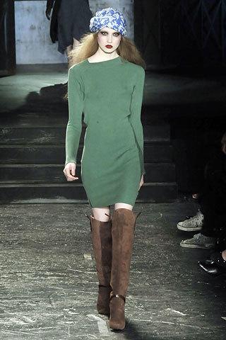 Tendencias de moda otoño-invierno 08/09: verde que te quiero verde