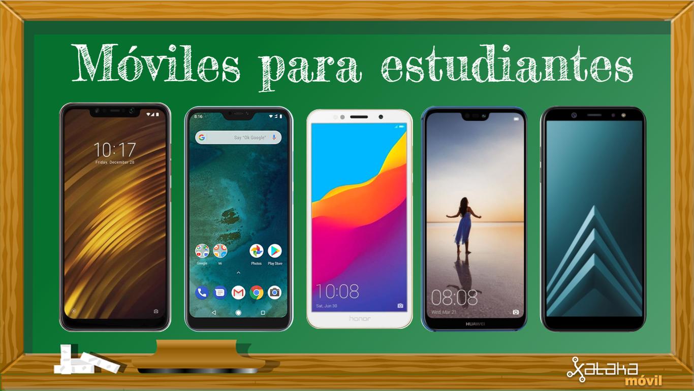 bc97e8280 13 móviles económicos y potentes para estudiantes