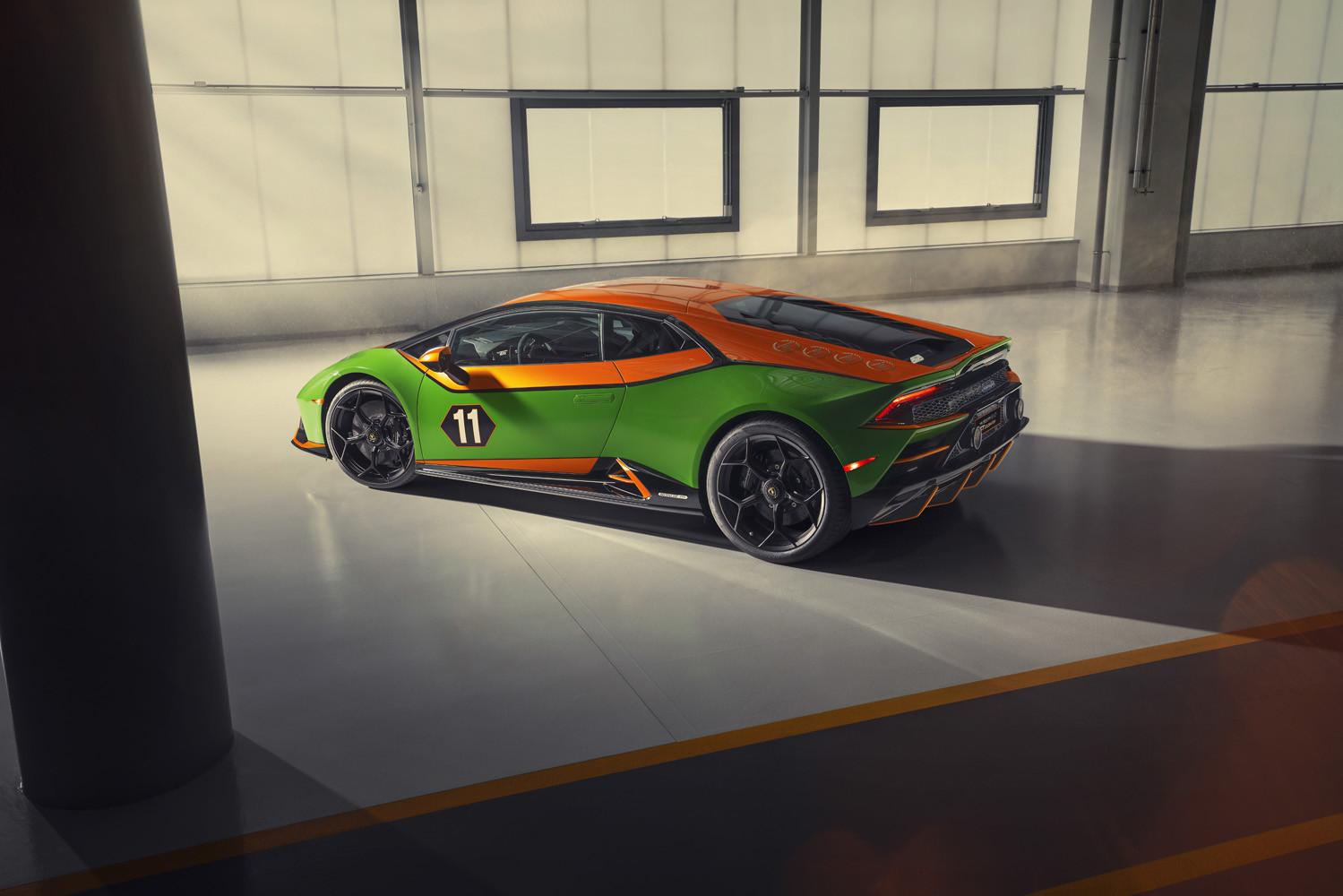 Foto de Lamborghini Aventador SVJ 63 Roadster y Huracán EVO GT Celebration (25/26)