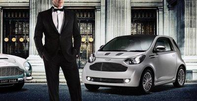 Aston Martin Cygnet, un iQ de casi 40.000 euros