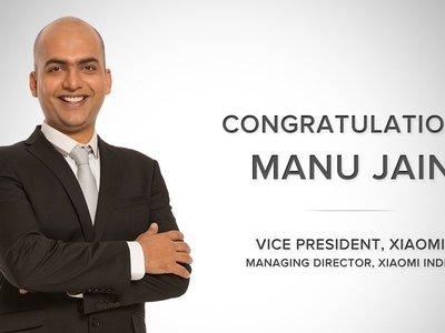 Xiaomi ya tiene sustituto de Hugo Barra: Manu Jain, responsable de Xiaomi India