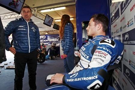 Randy de Puniet prueba la nueva Suzuki de MotoGP en Motegi
