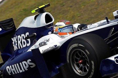 Nico Hulkenberg durante los libres del GP de China 2010