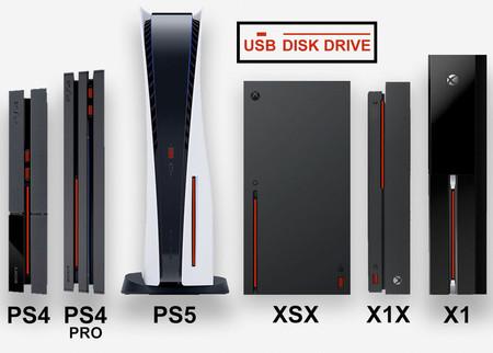 Así es el tamaño de PS5 y Xbox Series X comparado con las consolas de generaciones anteriores