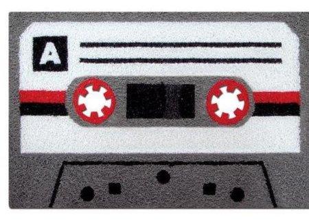 Felpudo con forma de cassette