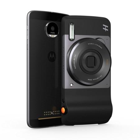 Hasselblad True Zoom, módulo para la familia Moto Z que permite capturas en formato RAW