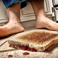 Un estudio pone a prueba la legendaria regla de los cinco segundos para recoger un alimento del suelo