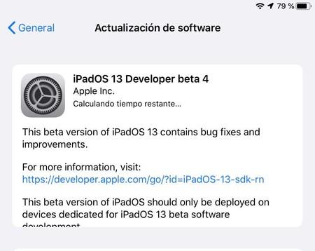 iOS 13 beta(programa) 4