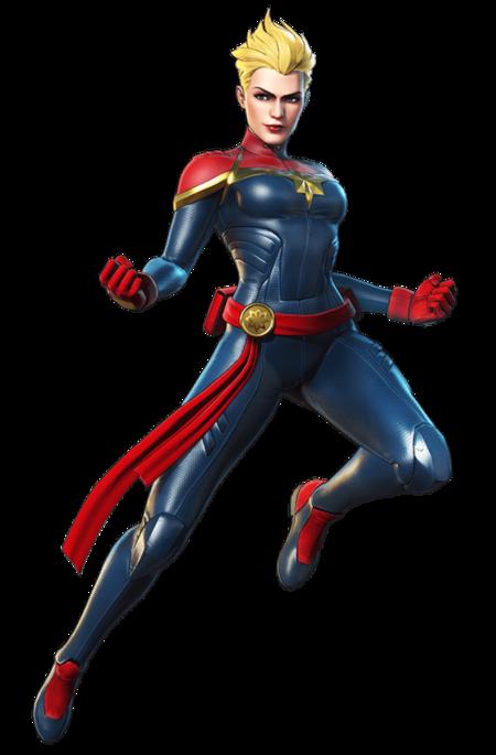 Char Hero Captain Marvel
