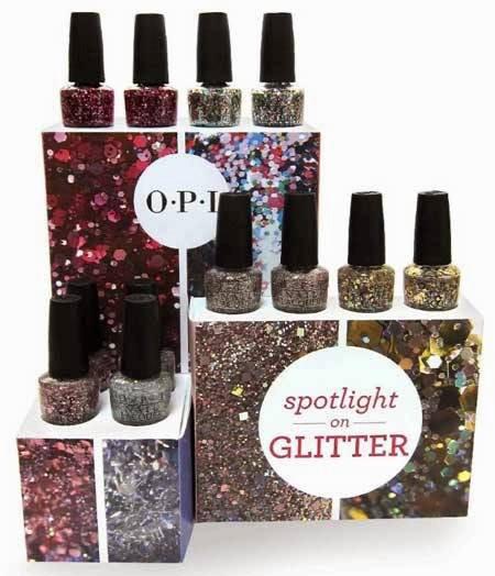 ¿Apasionada del mundo glitter? OPI presenta su Spotlight On Glitter