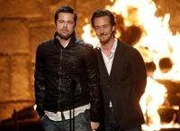 """Brad Pitt y otros famosos en los premios """"Guys Choice 2009"""""""