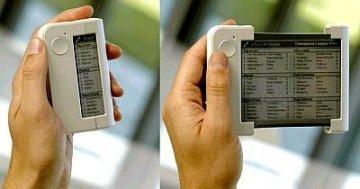 Philips Readius con pantalla enrollable