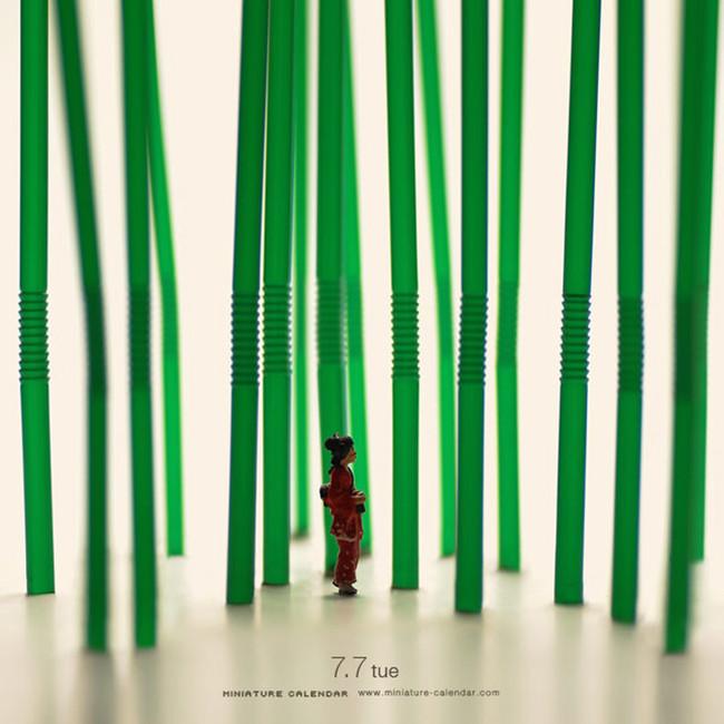 Miniature Calendar Tatsuya Tanaka 16