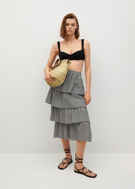 Las faldas que se llevan este verano de Mango