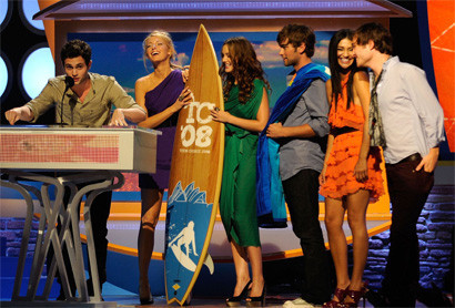 Gossip Girl arrasa en los Teen Choice Awards 2008
